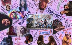 A collage for Shameless and Euphoria, two of the main shows identified as the most accurate, diverse, and inclusive. Art by: Lillian Dunn.