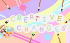 Creative Changes. Original Artwork by: Kayla Nguyen.