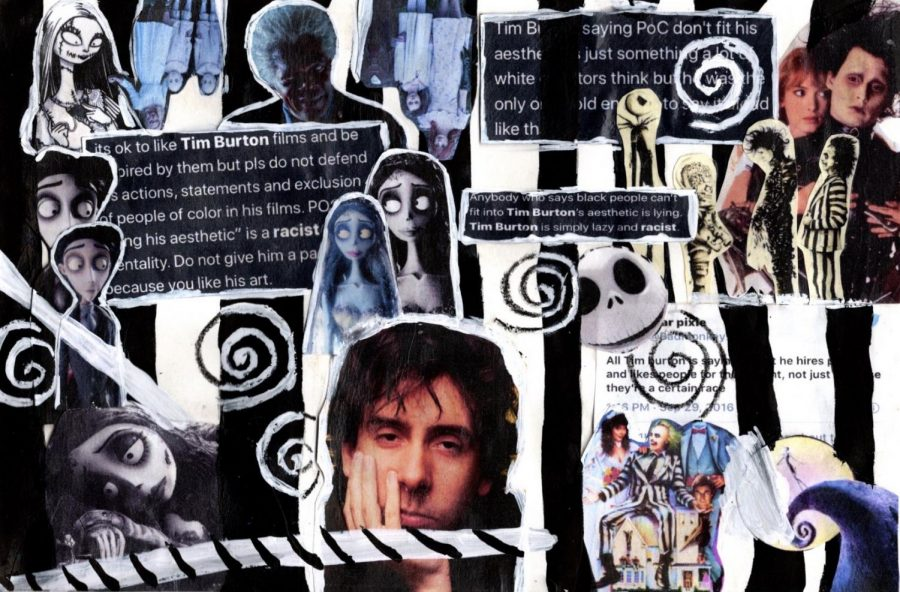 Tim Burton: Imaginative Until it Comes to Race