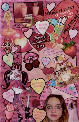 The Essence Of Valentines Day! Collage by: Lilli Dunn.