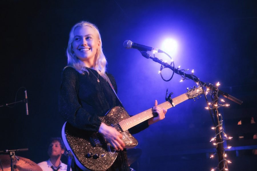 File:Phoebe Bridgers (41599189180).jpg by David Lee from Redmond, WA, USA is licensed with CC BY-SA 2.0. To view a copy of this license, visit https://creativecommons.org/licenses/by-sa/2.0