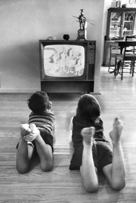1970s Lifestyle. Watching TV. Photo Taken by Boris Spremo/Toronto .. Torstar Syndication Services, a Division of Toronto Star Newspapers Limited, Toronto, 1972. eLibrary, https://explore.proquest.com/elibrary/document/2047980347?accountid=193113.
