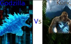 Godzilla vs. Kong. Digital Artwork by: Toby Hodne.